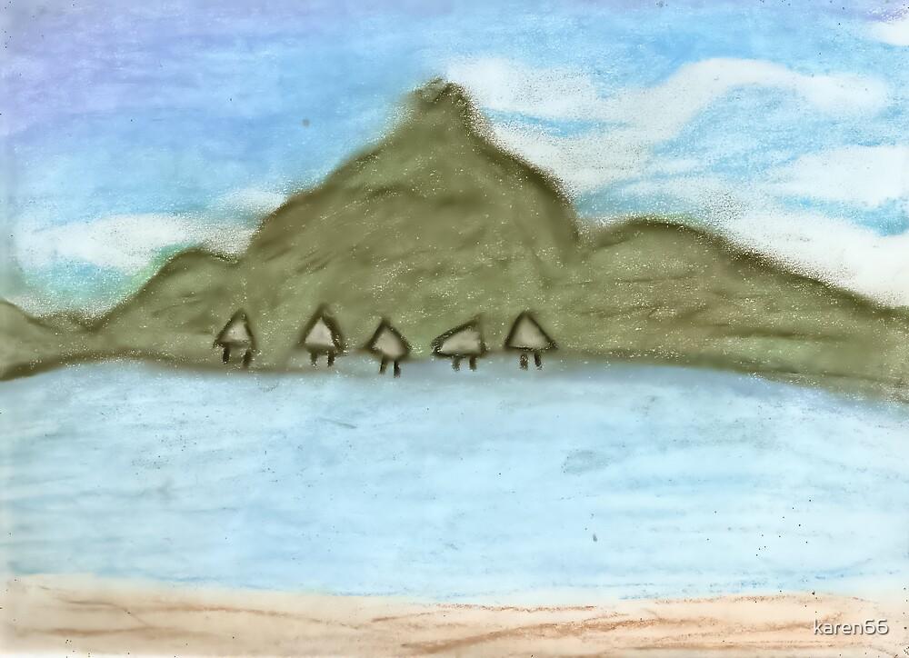 Bora Bora Huts by karen66