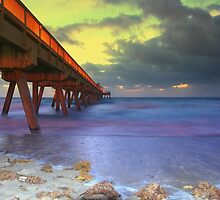 Morning pier by joemc
