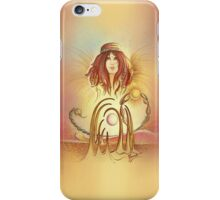 """""""THE SCORPIO"""" - Protective Angel for Zodiac Sign iPhone Case/Skin"""