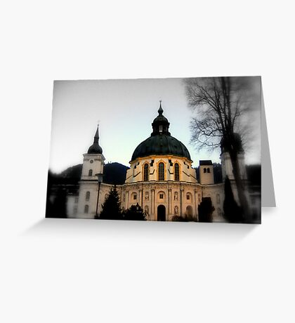 The Abbey of Ettal Greeting Card