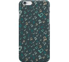 Music pattern iPhone Case/Skin
