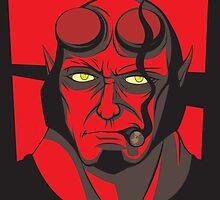 Hellboy by Primogenitor34