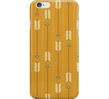 Arrows_Mustard iPhone Case/Skin