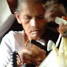on the train to Anuradhapura by Marie Tixier-Brennan