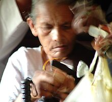on the train to Anuradhapura by Marie Tixier-Brennan