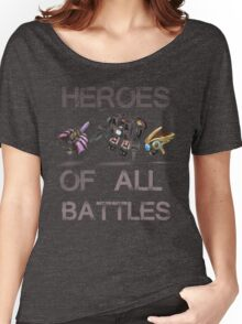 SC2-Heroes Of All Battles Women's Relaxed Fit T-Shirt