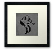 Formal Pug Framed Print