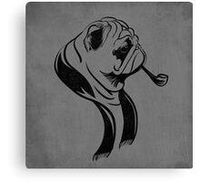 Formal Pug Canvas Print