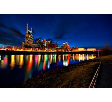 River of Lights Photographic Print