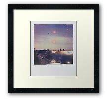 the light of stockholm Framed Print