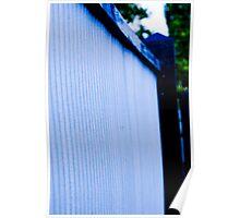 Blue Tin Poster
