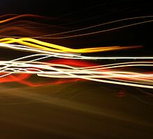 Jed's Colourful Light Streams by Danielle  Sheahan