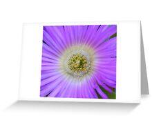 Flower genie. Greeting Card