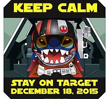 Keep Calm, Stay on Target! by DaveCT