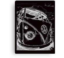 splitty Canvas Print