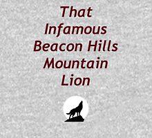 That Infamous Beacon Hills Mountain Lion Unisex T-Shirt
