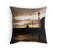 Albert Dock, Liverpool. Throw Pillow