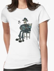 The Blues... Womens Fitted T-Shirt