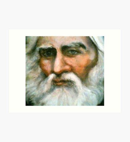 Portrait of Henry Wadsworth Longfellow, Poet Art Print