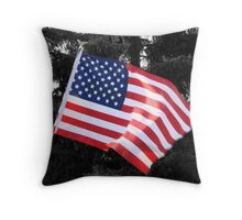 Blowing In The Wind... Throw Pillow