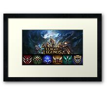 League of Legends Framed Print