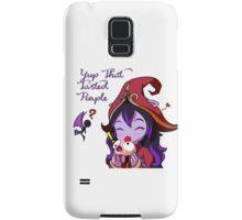 Lulu - That Tasted Purple Samsung Galaxy Case/Skin