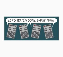 let's watch TV Kids Tee