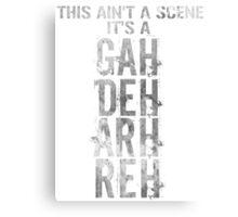 GAH! DEH! ARH! REH! Canvas Print