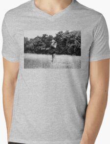 Just Go. Mens V-Neck T-Shirt