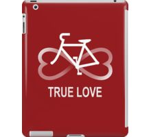 True Love Biking iPad Case/Skin