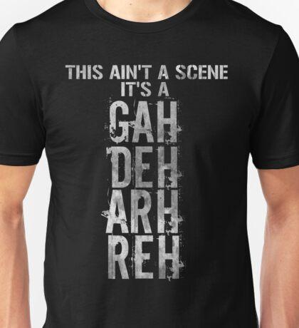 GAH! DEH! ARH! REH! Unisex T-Shirt