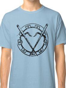 Round Killing Thing - Black Classic T-Shirt