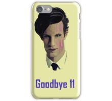 Tribute to Matt Smith's Doctor iPhone Case/Skin