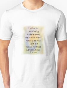 CS Lewis T-Shirt