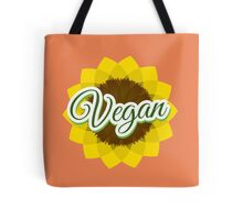 Vegan - Sunflower Tote Bag