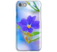 Glasshouse Glory - Dampiera iPhone Case/Skin