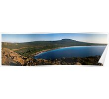 Lucky Bay Panorama - Cape Le Grande National Park, Western Australia Poster