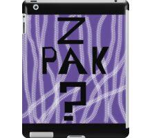 Question Z Pak iPad Case/Skin