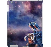 Wall-e in the universe iPad Case/Skin