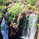 Florence Falls, from the top by Candice84
