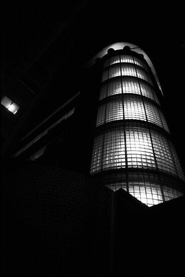 Urban Landscape#14 Hyde Park Building by Juilee  Pryor