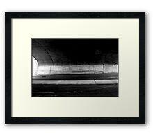 Urban Landscape#32 Surrey Hills UnderPass Framed Print