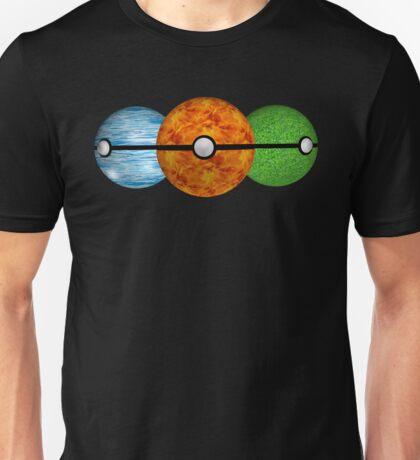 Pokemon Starters Unisex T-Shirt