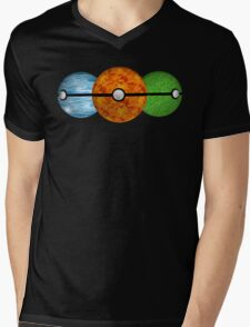 Pokemon Starters Mens V-Neck T-Shirt