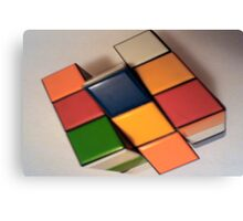 4D Cube Canvas Print