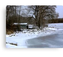 Ice Beach Canvas Print