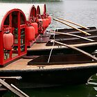 Waiting Boats by KLiu