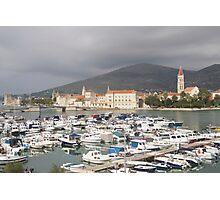 Trogir Croatia - marina Photographic Print