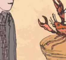 Annie Hall + Alice in Wonderland Sticker