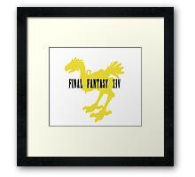 Chocobo FFXIV Yellow Framed Print